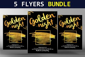 5 Top Party Flyers Bundle