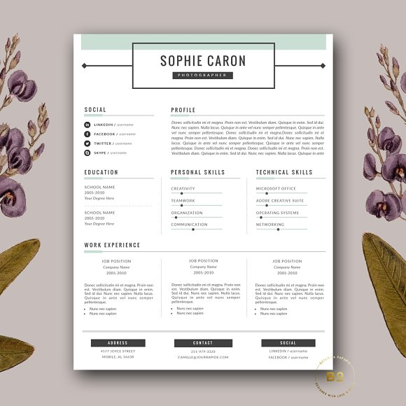 Resume + Cover Letter Template
