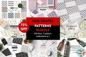 75% OFF Geo Shapes Bundle