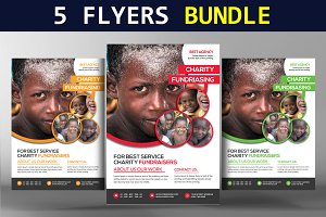 5 Multi-Purpose Corporate Flyers