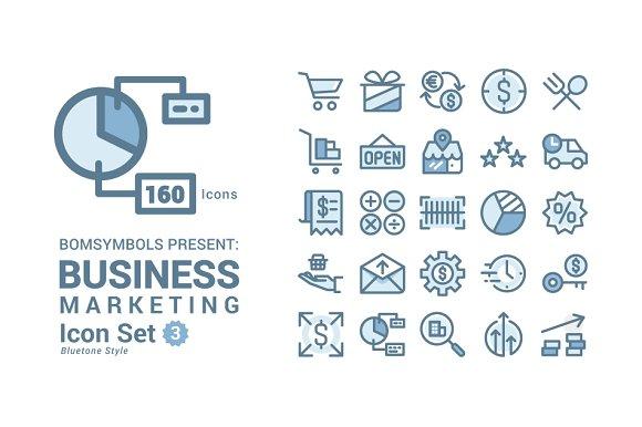 Business Marketing Bluetone