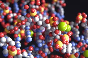 Abstract chemistry background