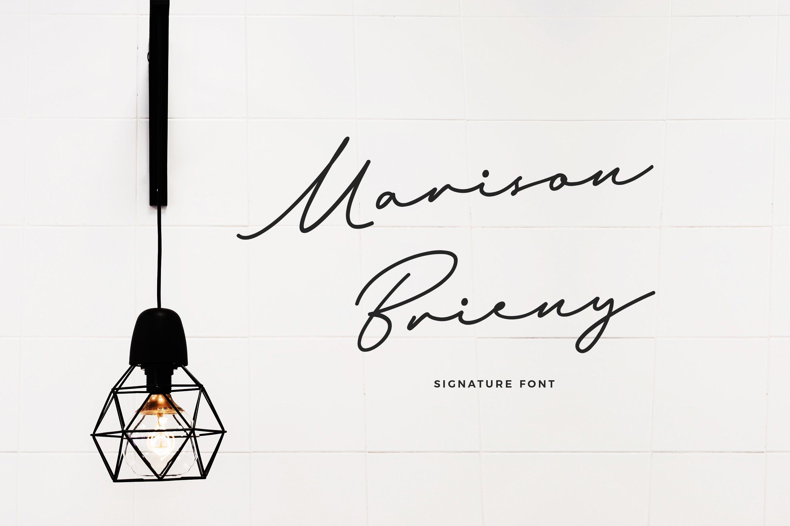 Its Marison Brieny ~ Script Fonts ~ Creative Market