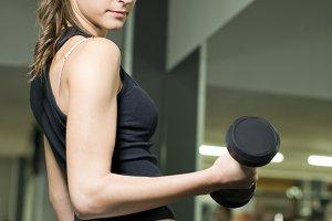 Biceps girl