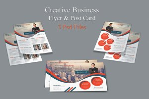 Creative Business Flyer & Post Card