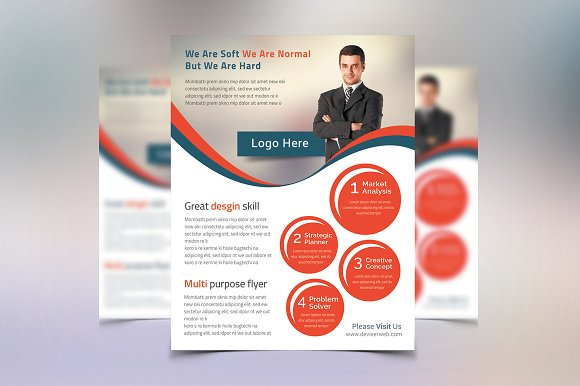 Creative Business Flyer Post Card Templates Market