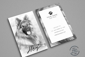 Cute doggy multipurpose card