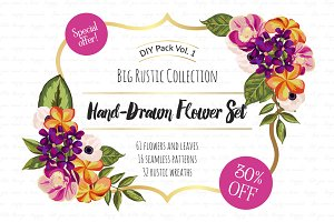DIY Flower Pack Vol.1
