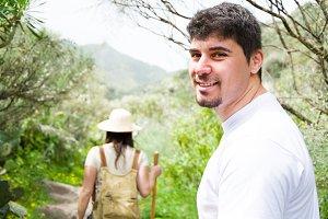 hiking friends in Gran Canaria