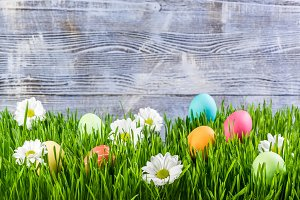 Easter background 01