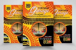 Garage For Sale Flyer Template
