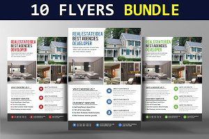 10 Multi-purpose Corporate Flyers