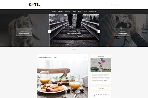 Gate - A WordPress Blog Theme