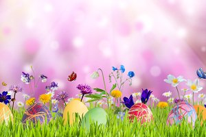 Easter background 017