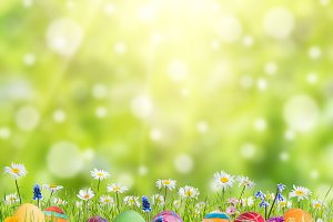 Easter background 018