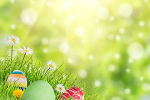 Easter background 019