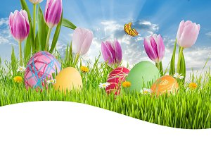 Easter background 020