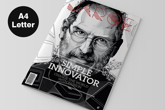 Indesign magazine template magazine templates creative market indesign magazine template magazines pronofoot35fo Gallery