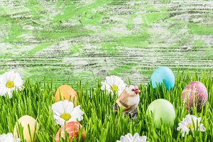 Easter background 024