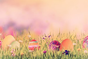 Easter background 027