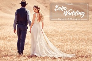 Boho Wedding LR & PS Presets