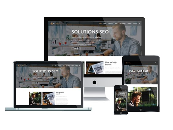 AT SEO Marketing Joomla Template