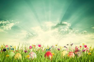 Easter background 028