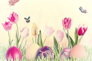 Easter background 031