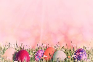Easter background 032