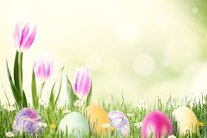 Easter background 033