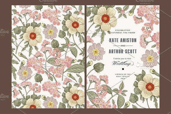 Wedding Flowers Hibiscus Card Frame