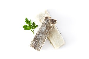 Salted dried cod