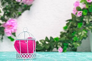 Still life romantic background