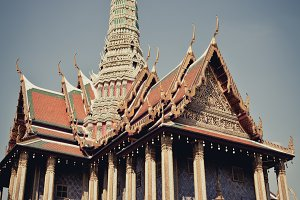 wat pra kaew , Thai royal palace
