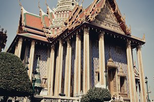 Thai royal palace. wat pra kaew