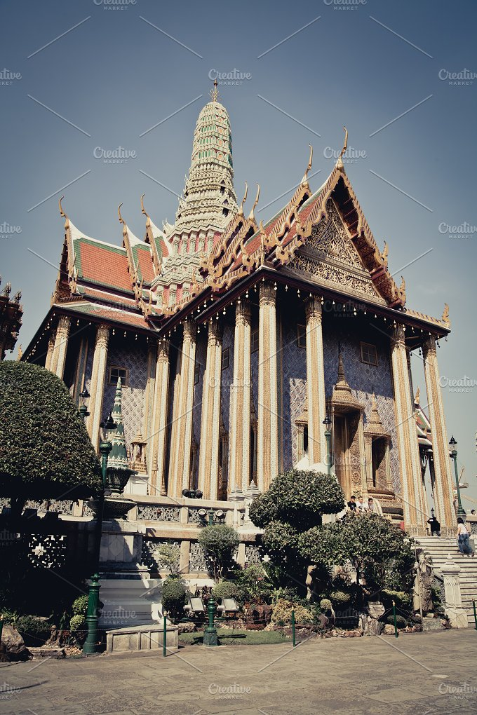 Thai royal palace. wat pra kaew - Arts & Entertainment