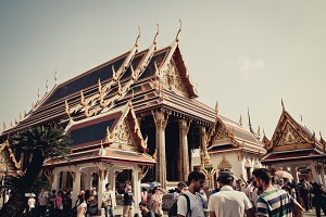 wat par kaew, Thai royal palace