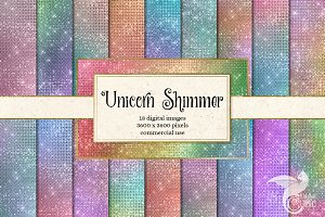 Unicorn Shimmer Textures