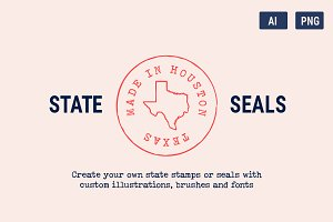 State Seals & Stamps