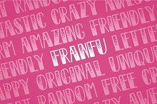 Franfu - font