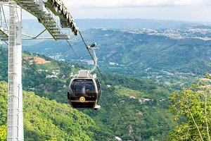 Cable Car in Floridablanca, Colombia