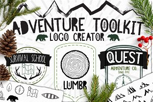 Rustic Logo Toolkit Outdoor Edition