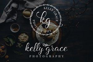 Kelly Grace Premade Logo