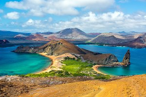View from Bartolome Island