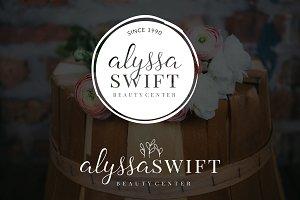 Alyssa Swift Premade Logo