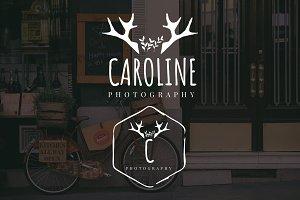 Caroline Premade Logo