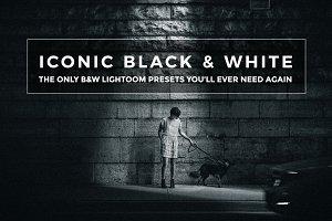 Iconic B&W Lightroom Presets