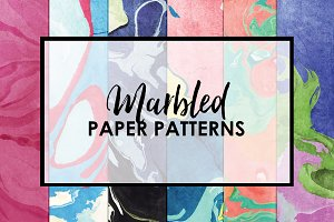 Marbled Paper Patterns