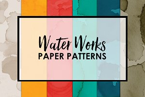 Water Works Paper Patterns