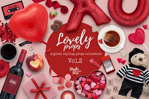 Lovely digital styling props Vol.2